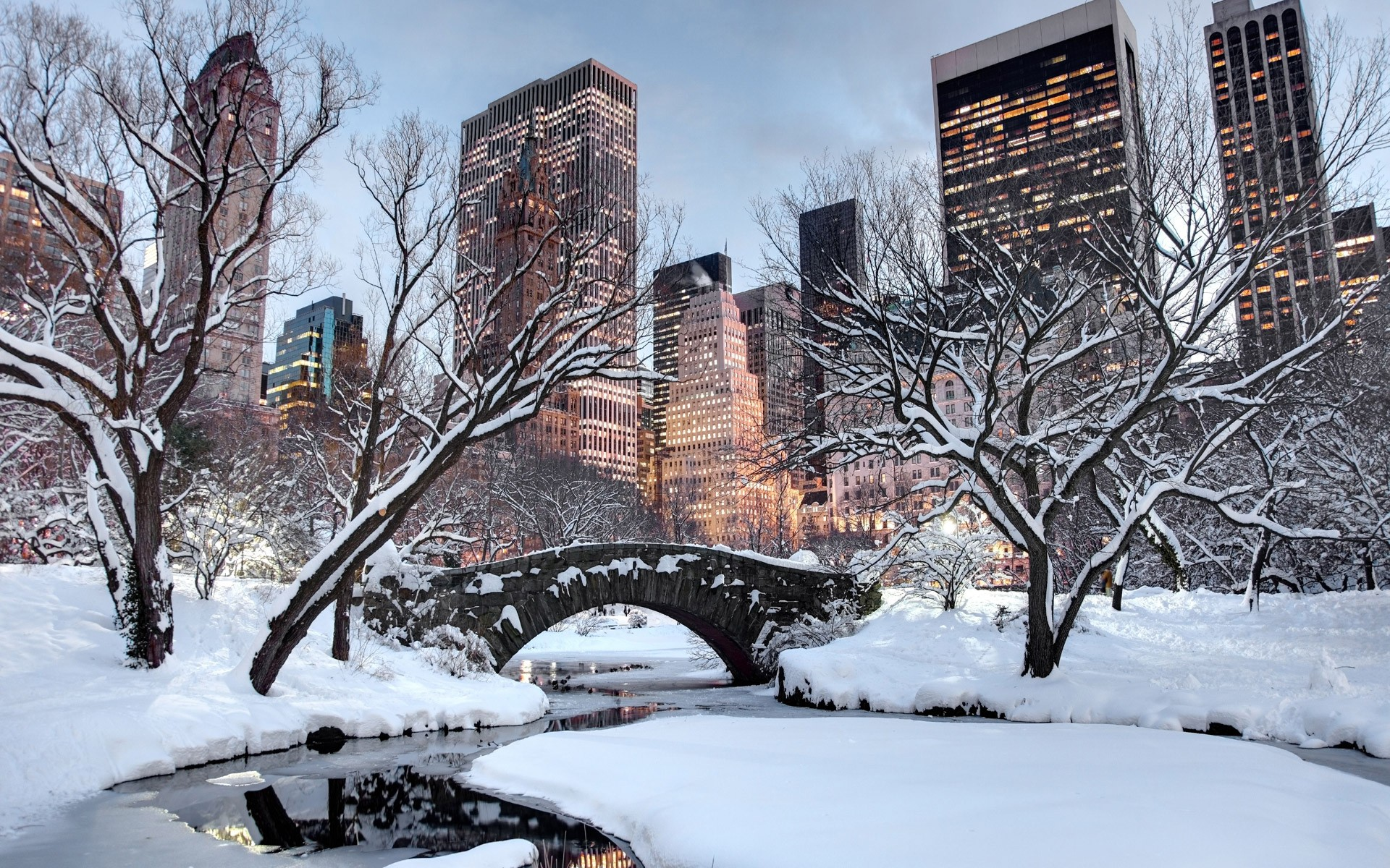 Winter New York Quand Partir